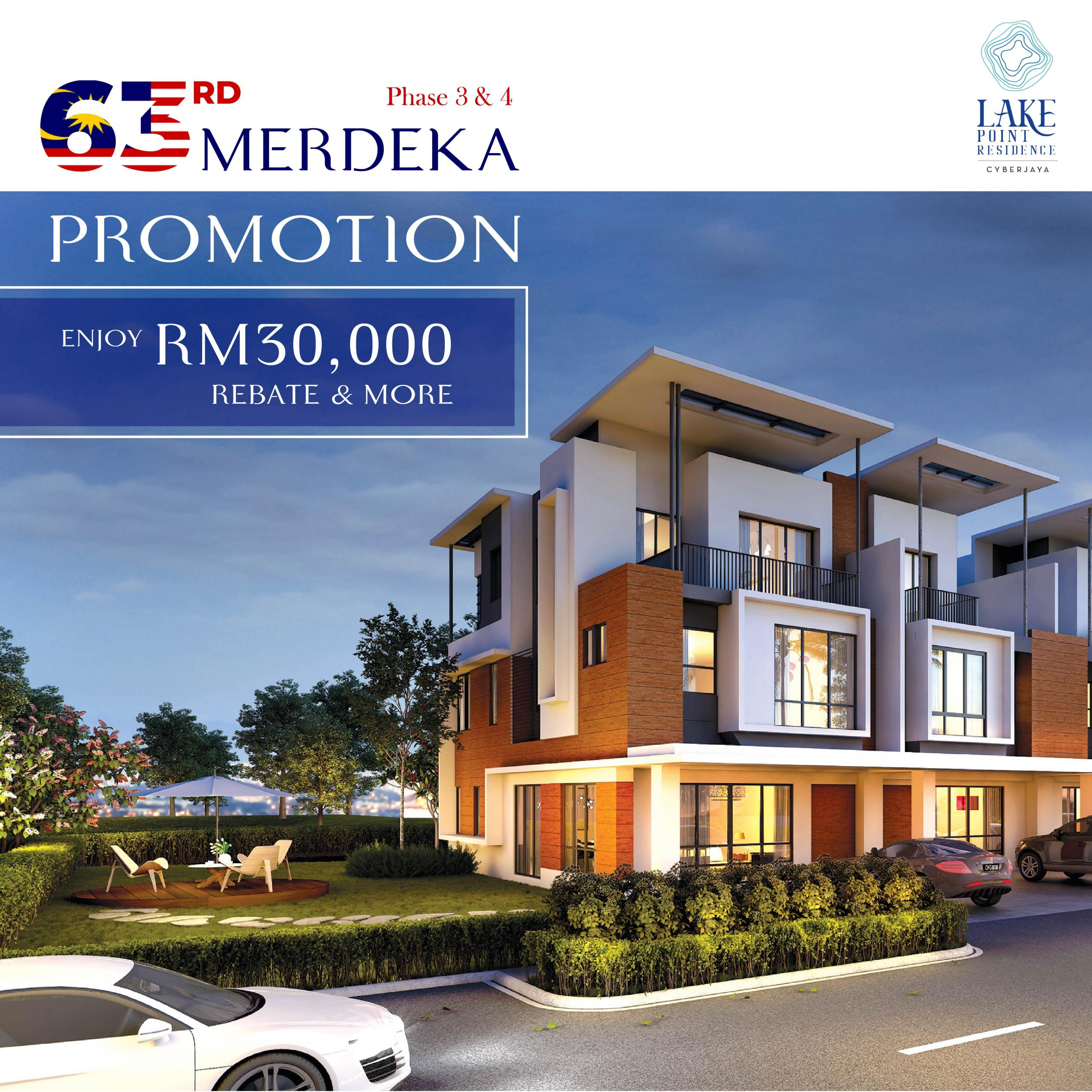 lake point residence merdeka promo