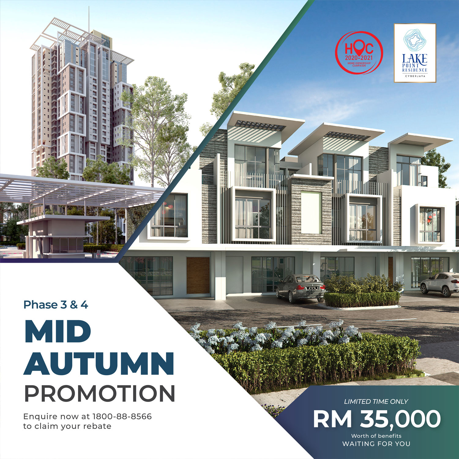 lake point residence mid autumn promo